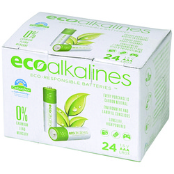 Ecoalkalines Aaa Ecoalkaline Batteries (24 Pk) (pack of 1 Ea)