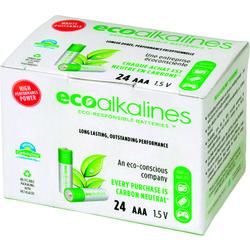 Ecoalkalines Aa Ecoalkaline Batteries (24 Pk) (pack of 1 Ea)