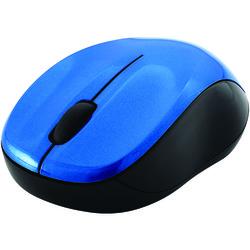 Verbatim Silent Wireless Blue-led Mouse (blue & Black) (pack of 1 Ea)