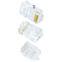 Ethereal 8-pin Cat-6 Crimp Connector, 50 Pk (pack of 1 Ea)