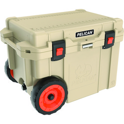 Pelican™ 45-quart Elite Cooler With Built-in Wheels (tan) (pack of 1 Ea)