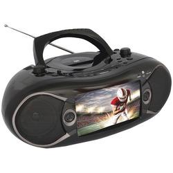 "Naxa 7"" Bluetooth Dvd Boombox & Tv (pack of 1 Ea)"