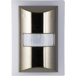 Ge 60-lumen Motion-boost Led Night Light (brushed Nickel) (pack of 1 Ea)