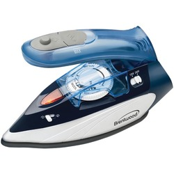 Brentwood Appliances Dual-voltage Nonstick Travel Steam Iron (pack of 1 Ea)