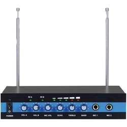 Blackmore Pro Audio Dual Channel Wireless Microphone System (pack of 1 Ea)