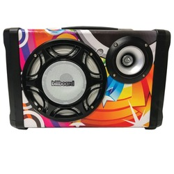 Billboard Graffiti Bluetooth Portable Speaker (pack of 1 Ea)