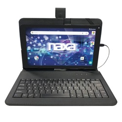 Naxa 10.1-inch Core Tablet With Android Os 8.1 And Keyboard (pack of 1 Ea)