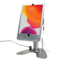 Cta Digital Dual Security Kiosk Stand With Locking Case And Cable For Ipad 10.2-inch 7th Generation (pack of 1 Ea)