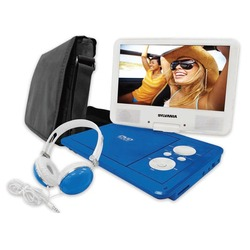 Sylvania 9-inch Swivel Screen Pdvd Usb With Deluxe Bag And Matching Headphones (pack of 1 Ea)