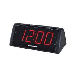 Sylvania 1.8-inch Screen Usb Clock Radio (pack of 1 Ea)
