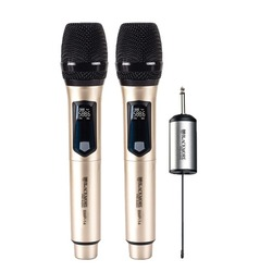 Blackmore Pro Audio Dual Handheld Rechargeable Wireless Uhf Microphone System (pack of 1 Ea)