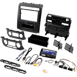 Category: Dropship Automotive, SKU #RA55932, Title: Pac Radiopro Radio Replacement Kit With Integrated Climate Controls For Select 2015 To 2020 Ford Trucks With 8-inch Display (pack of 1 Ea)