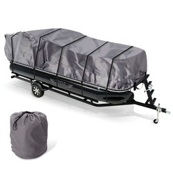 Category: Dropship Automotive, SKU #RA56428, Title: Pyle Armor Shield Trailer Pontoon Boat Cover (pack of 1 Ea)