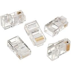 Ideal Rj45 8p8c Mod Plug (card Of 50) (pack of 1 Ea)