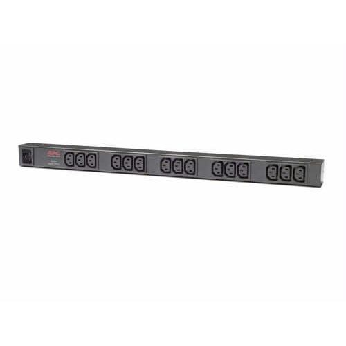 BASIC RACK - POWER DISTRIBUTION STRIP - RACK-MOUNTABLE - AC 120/208/230 V - 15 X