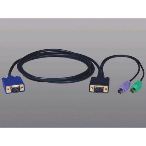 10-FT. KVM SWITCH PS/2 (3-IN-1) CABLE KIT FOR B004-008