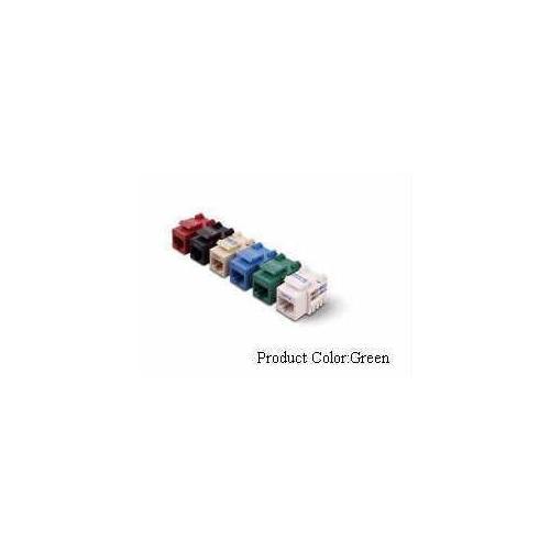 Belkin Components Cat6 Chnl Cert Keystn Jck 568a/568b; Green