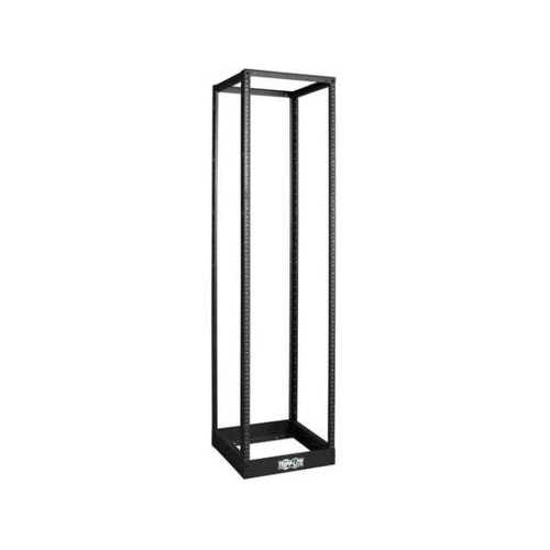 45U SMARTRACK 4-POST OPEN FRAME RACK, 1000-LB. CAPACITY - ORGANIZE AND SECURE NE