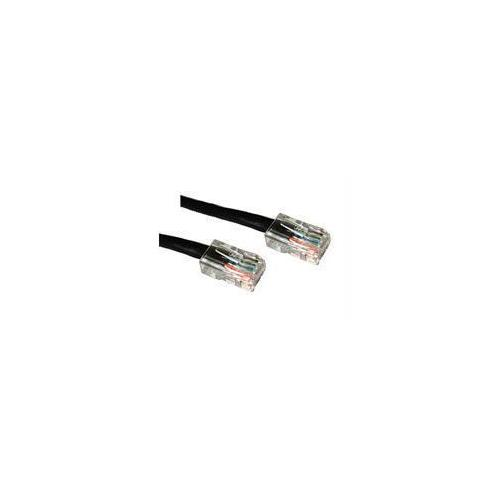 C2G 3FT CAT5E NON-BOOTED CROSSOVER UNSHIELDED (UTP) NETWORK PATCH CABLE - BLACK