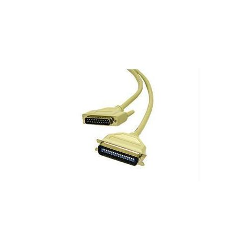 50FT IEEE-1284 DB25 MALE TO CENTRONICS 36 MALE PARALLEL PRINTER CABLE