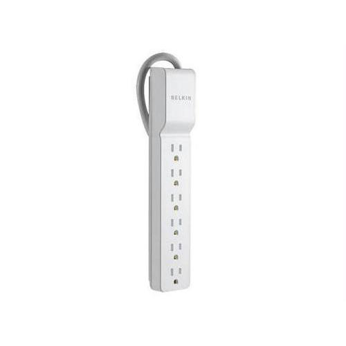 6-OUTLET HOME/OFFICE SURGE PROTECTOR WIT