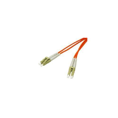 C2g C2g 15m Lc-lc 62.5/125 Om1 Duplex Multimode Pvc Fiber Optic Cable - Orange