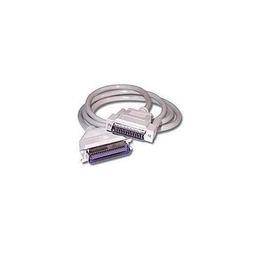 6FT DB25 MALE TO CENTRONICS 36 MALE PARALLEL PRINTER CABLE