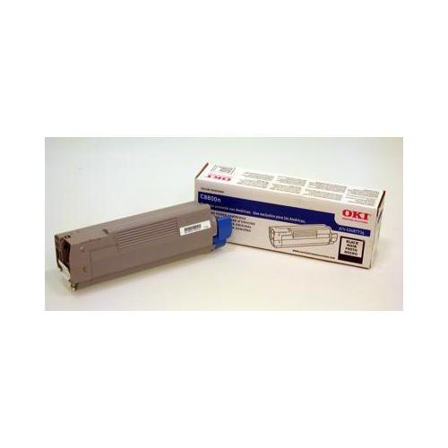 BLACK TONER CARTRIDGE, UP TO 6,000 PAGES, (C8800 SERIES) - C8800N, MIN. & REQ.OR