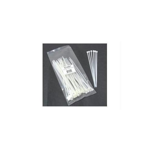 4IN CABLE TIE MULTIPACK (100 PACK) - WHITE (TAA COMPLIANT)