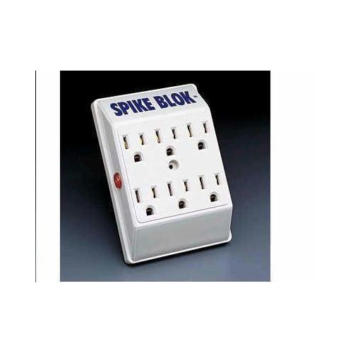 6-OUTLET LOW-PROFILE SURGE PROTECTOR, DIRECT PLUG-IN, 540 JOULES, DIAGNOSTIC LED