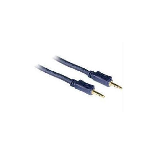 1.5FT VELOCITYANDTRADE; 3.5MM M/M STEREO AUDIO CABLE