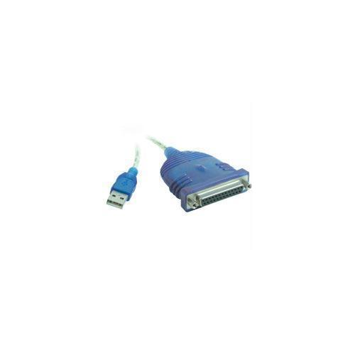 6FT USB TO DB25 IEEE-1284 PARALLEL PRINTER ADAPTER CABLE