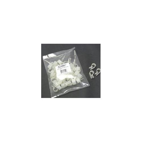 1/4IN NYLON CABLE CLAMP - 50PK