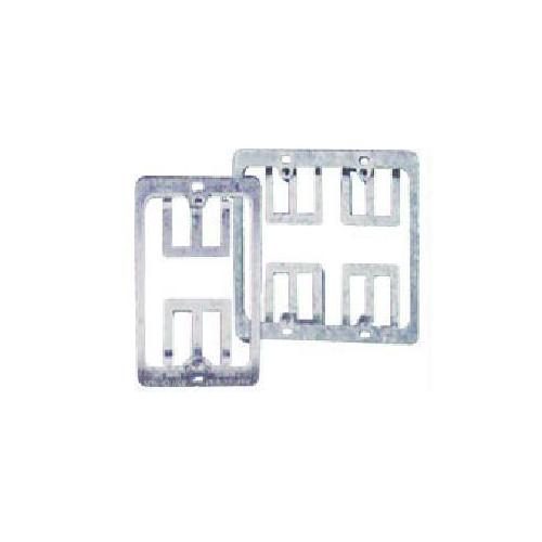 DOUBLE GANG WALL PLATE MOUNTING BRACKET