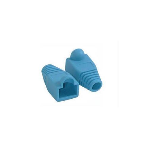 C2g Rj45 Snagless Boot Cover (6.0mm Od) - Blue - 50pk