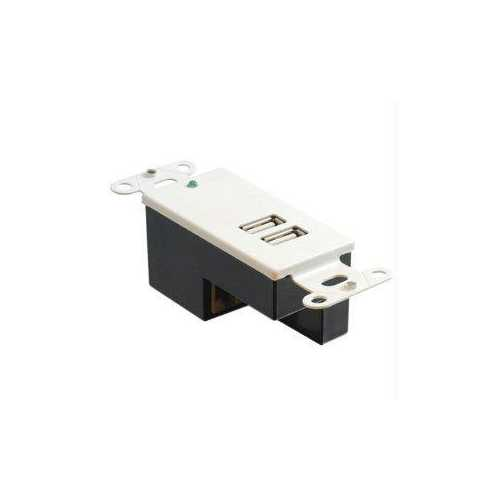 2-PORT USB SUPERBOOSTER WALLPLATE-RECEIV