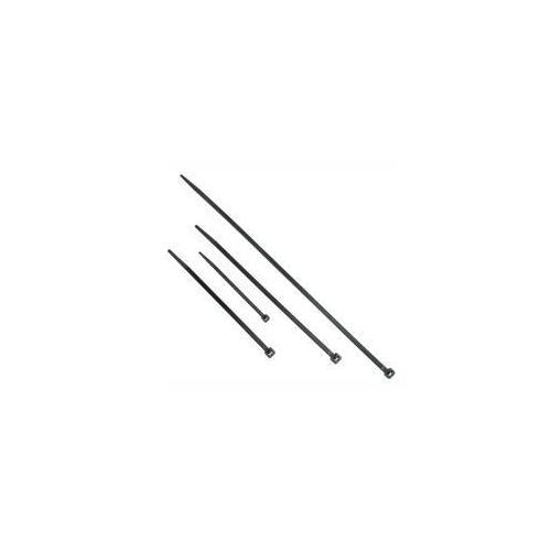 Legrand 11.5in Releasable Cable Ties Black 50-pk