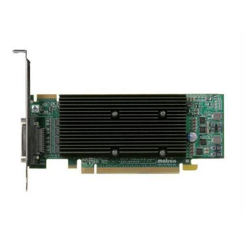 THE MATROX M9140 LP PCI-E X16 512MB DDR2, 4 DVI, ATX, ROHS