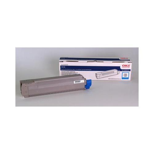 Okidata Oki Cyan Toner For C830n, C830dn, C830dtn - 8k Yield