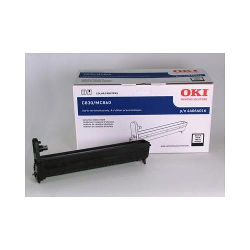 Okidata Oki Black Image Drum For C830n, C860dn, C830dtn, Mc860