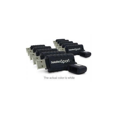 10 X 2GB WATERPROOF USB DRIVE -WHITE