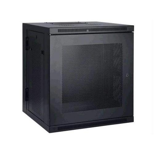 12U WALL MOUNT RACK ENCLOSURE SERVER CABINET HINGED DOORS/SIDES