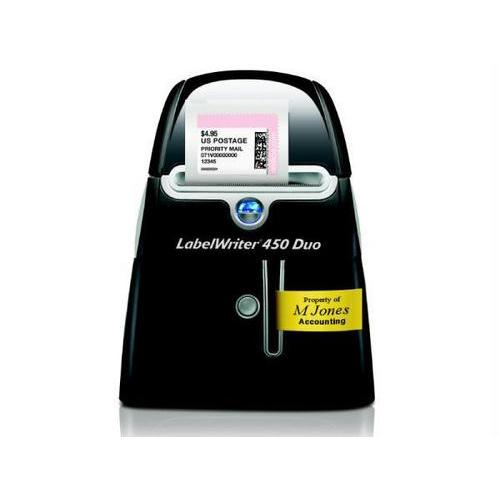 LABELWRITER 450 DUO - LABEL PRINTER - MONOCHROME - THERMAL - 71 LABELS/MINUTE -