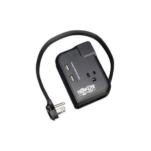 3-OUTLET TRAVEL SURGE 1050J 2-USB 5-15P