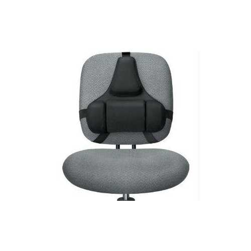 2-TIERED SUPPORT SYSTEM FEATURES A MID SPINAL SUPPORT FOR GOOD POSTURE, AND A LO