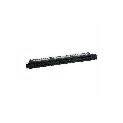 48-PORT 1U CAT6/5 RACK-MOUNT PATCH PANEL