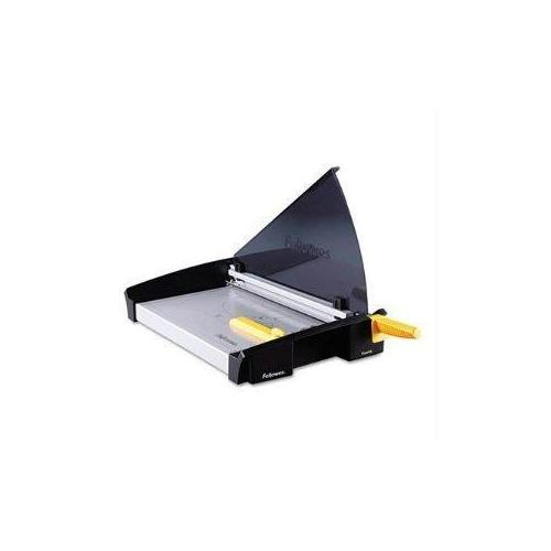 Fellowes, Inc. Full Size Safecut Safety Shield Protects User During Cutting. Heavy-duty Stainle