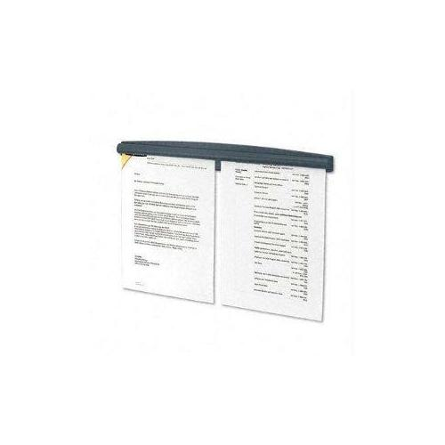 Fellowes, Inc. Partition Additions Note Rail. Each Unit Displays Two Letter Size Documents Side