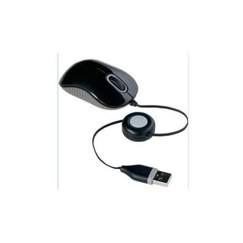 MOUSE - OPTICAL - WIRED - USB - BLACK;GRAY