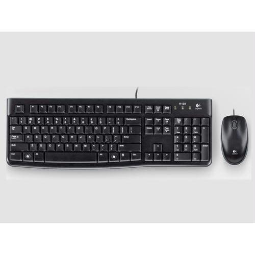 DESKTOP MK120 - KEYBOARD;MOUSE - WIRED - USB